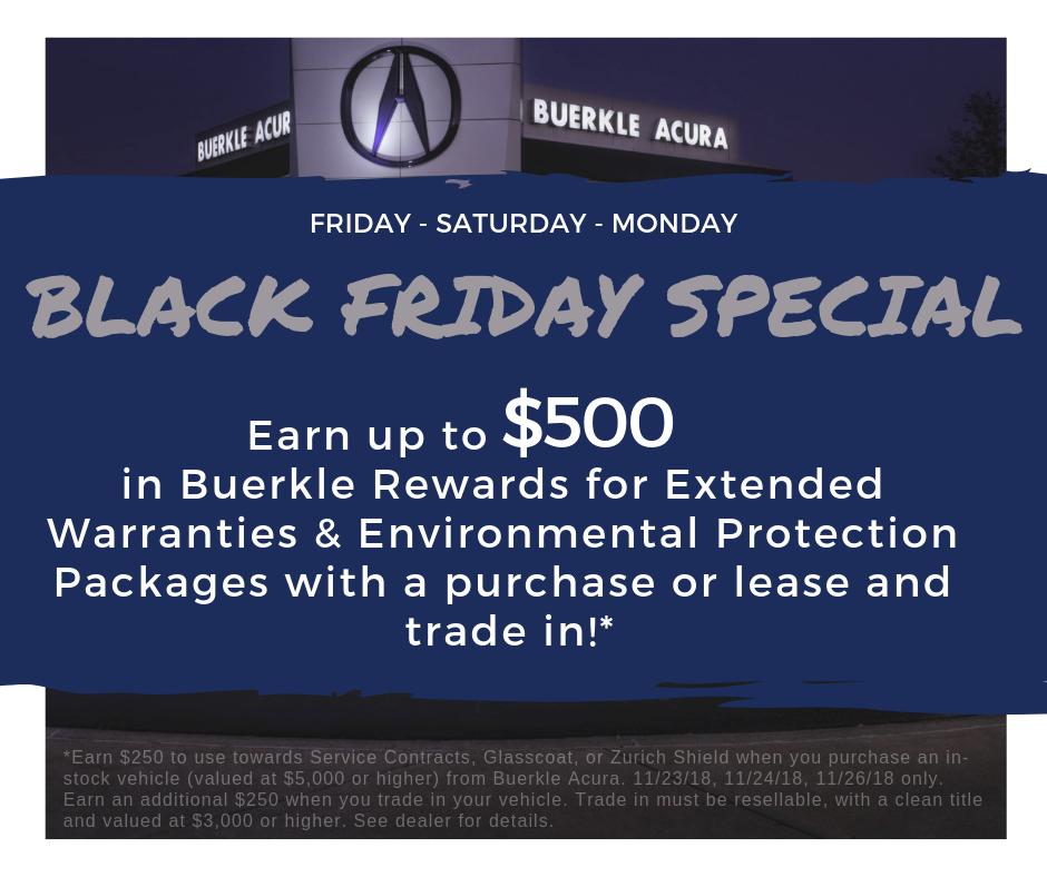 Buerkle Acura Black Friday Sales Event!