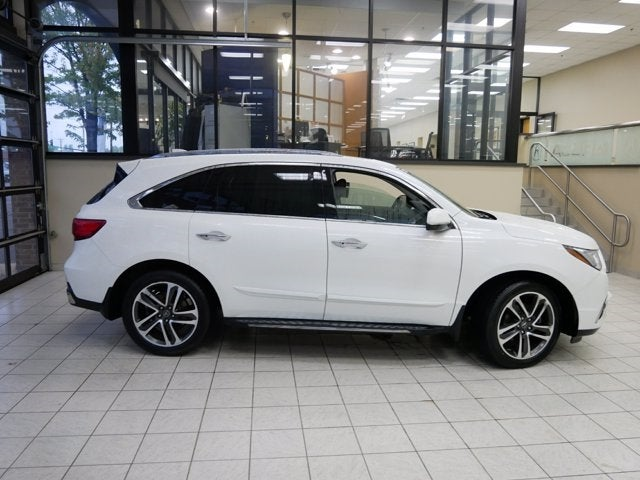 Certified 2017 Acura MDX Advance and Entertainment Package with VIN 5FRYD4H91HB008895 for sale in Minneapolis, Minnesota